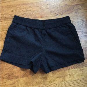 Black J Crew shorts